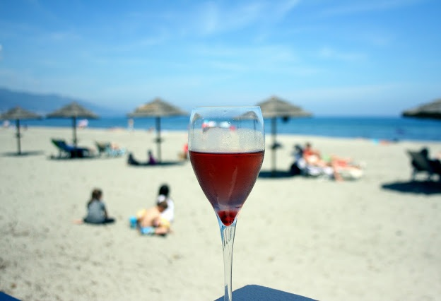 Bastia, Corsica beach
