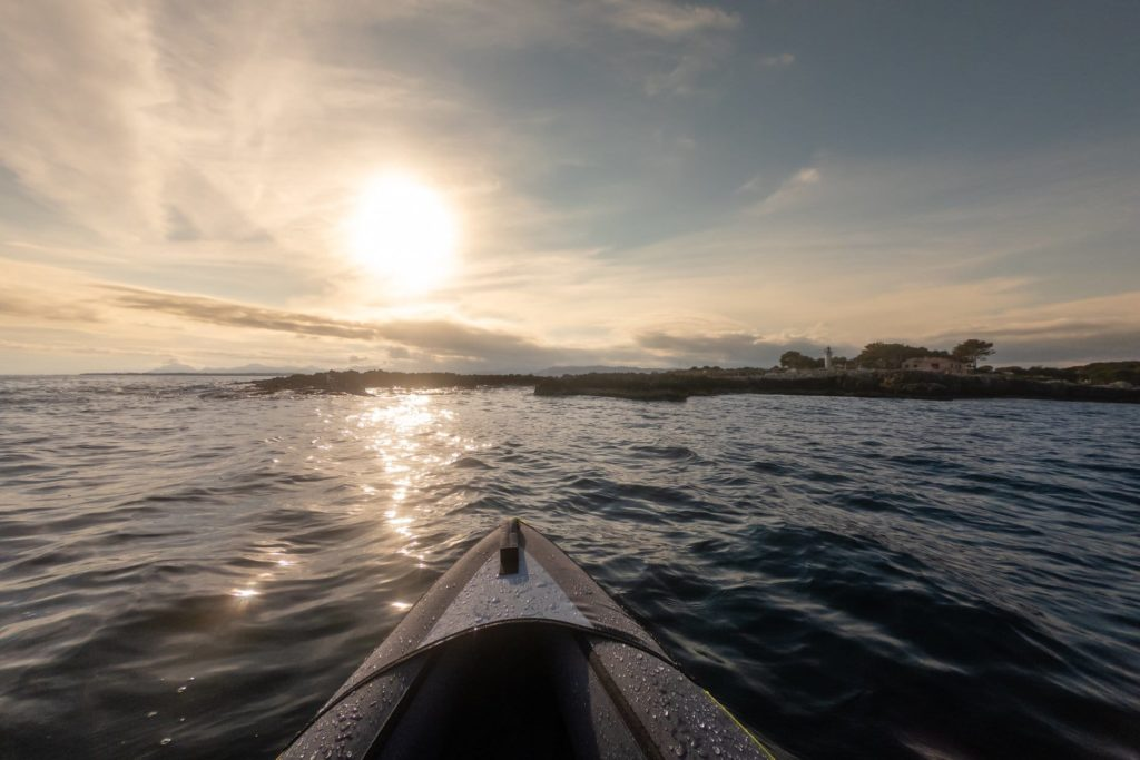 Cap d'Antibes Canoeing
