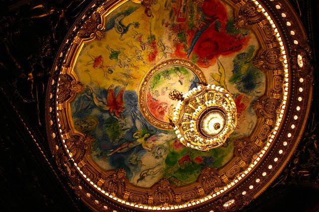 Opera Garnier schilderijen