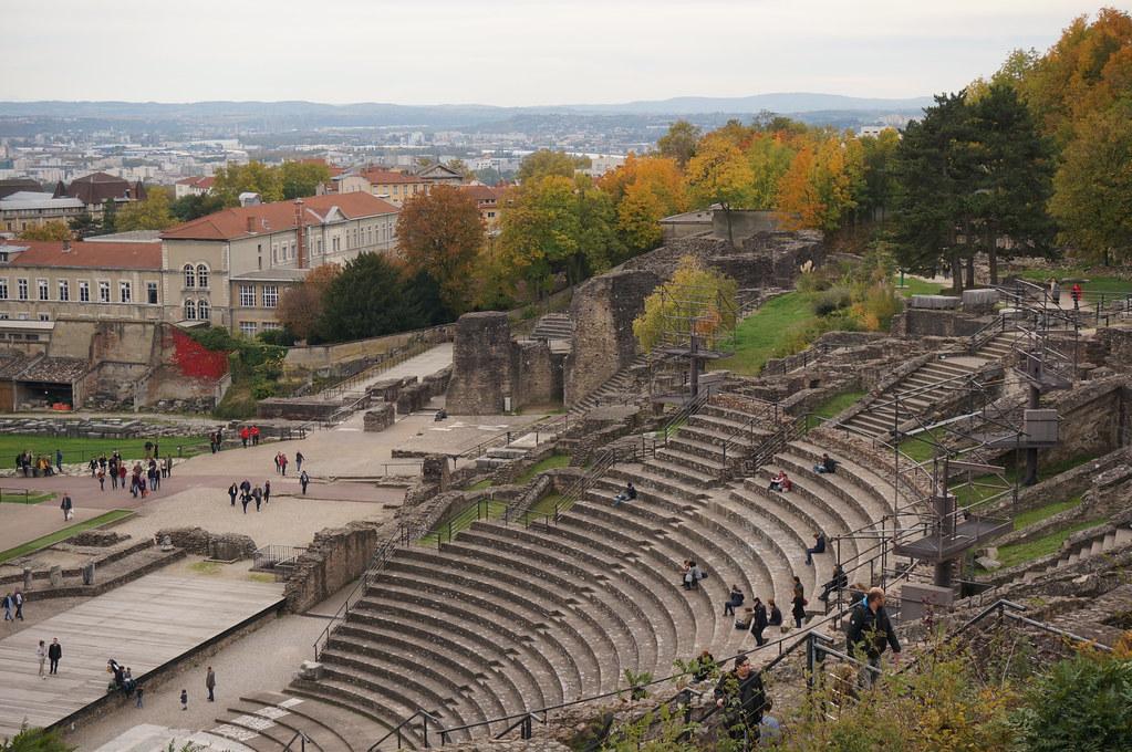 Theatre of Fourviére Lyon Blog