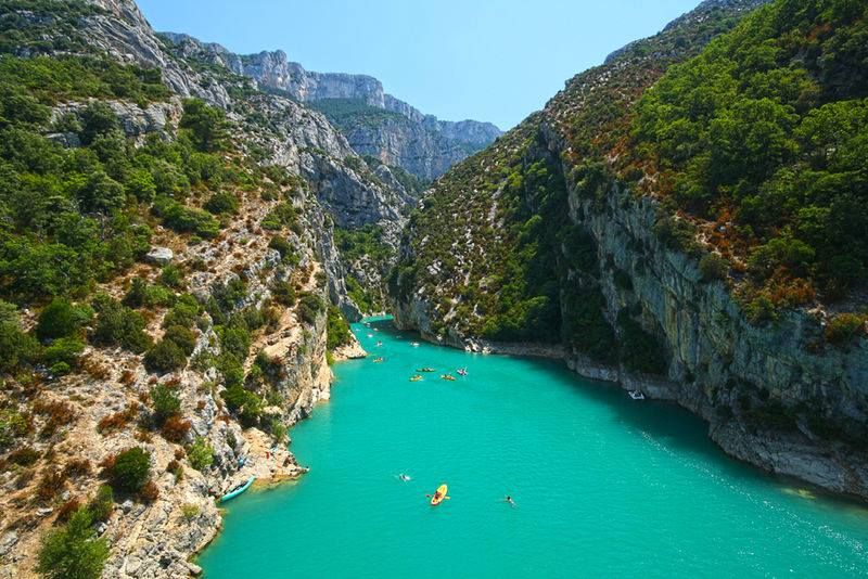 Verdon Gorge Best Kayaking and Canoeing Spots in France