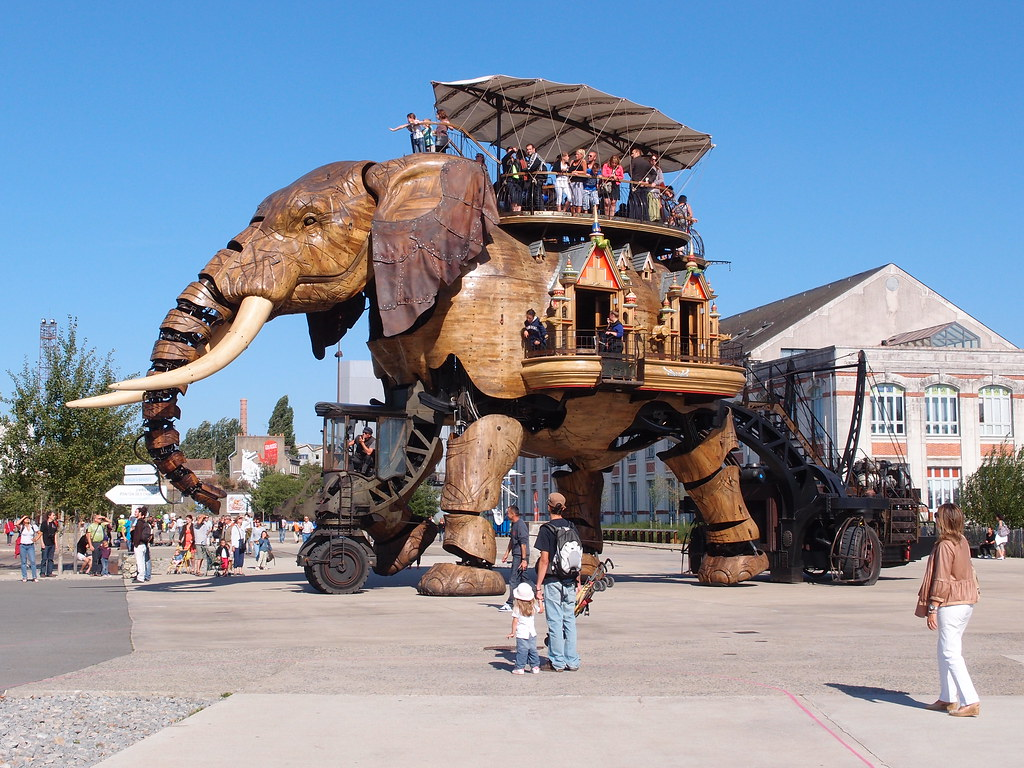 isle of nantes mechanical elephant
