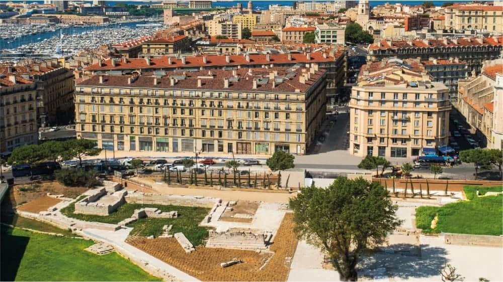 see the Musée d'Histoire de Marseille