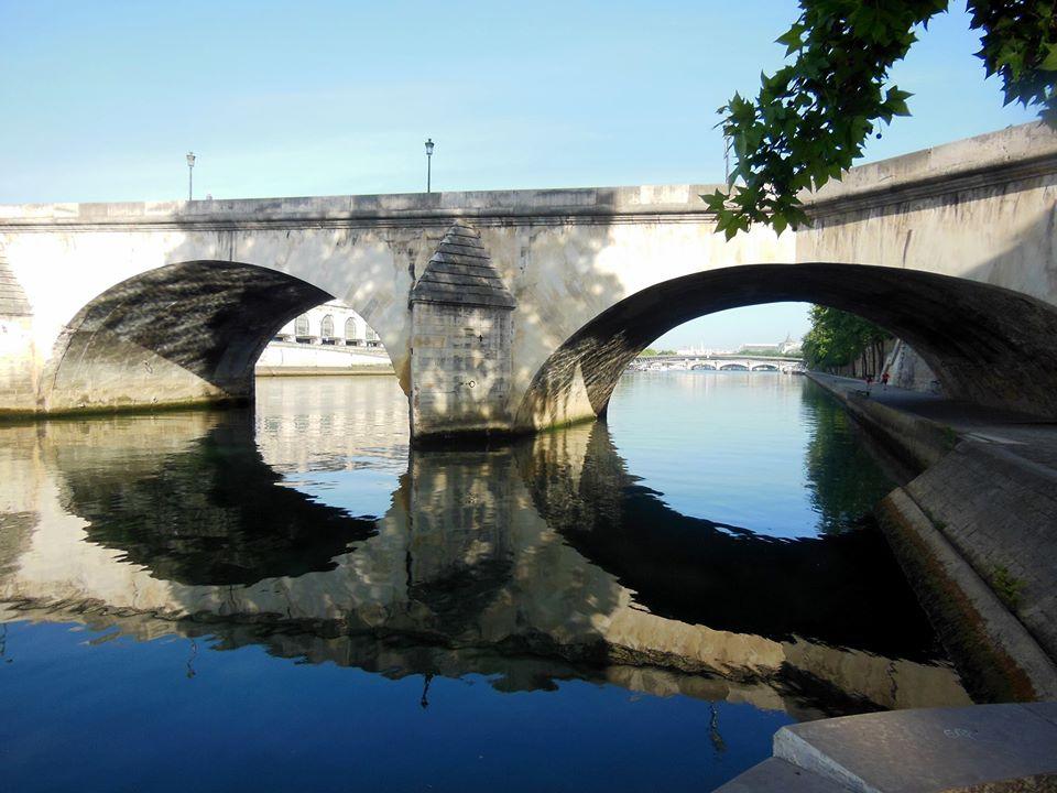Carousel Bridge Close To The Louvre