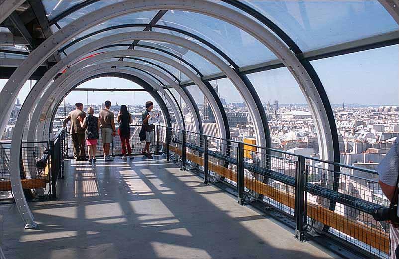 Centre Pompidou Area Paris