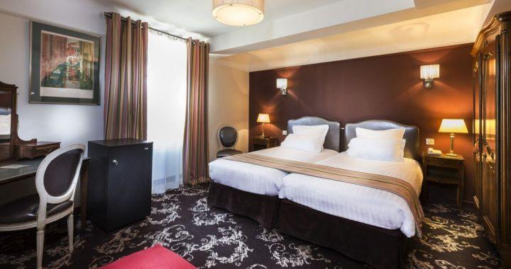 Crystal Betaalbaar hotel in Parijs, vlakbij het Louvre