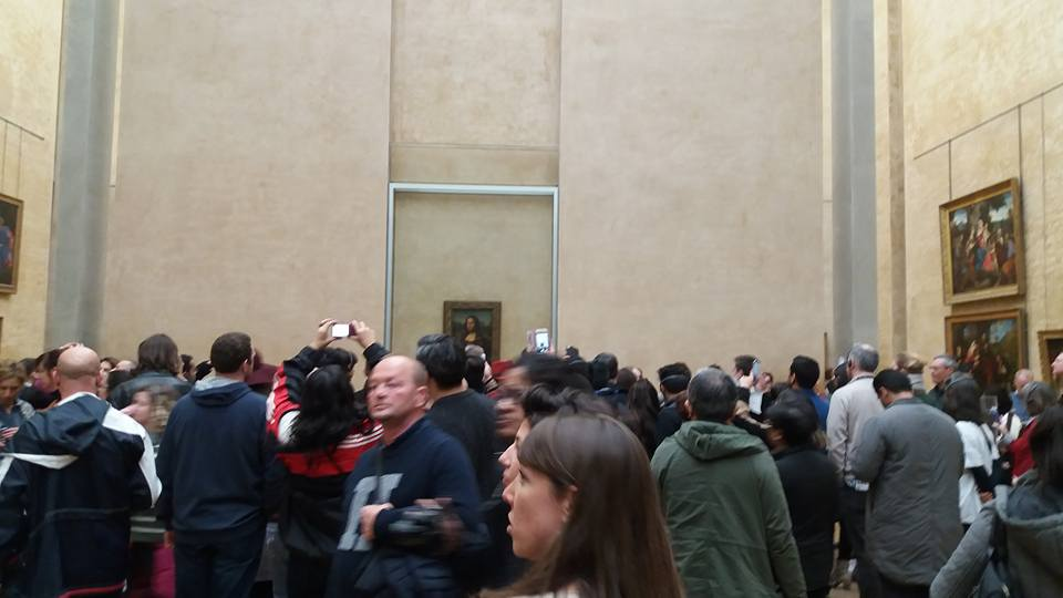 Do not visit the Louvre because of the crowds