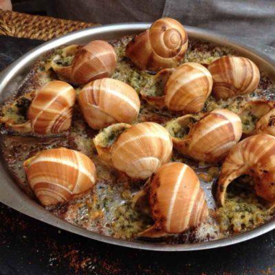 Escargot – Snails french dish