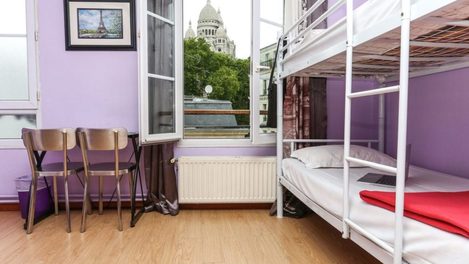 Hostels in Montmartre, Paris