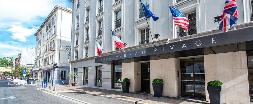 Hotel Beau Rivage Nice France Promenade des Anglais luxury hotel