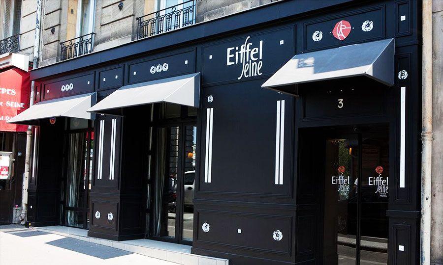 Hotel Eiffel Seine Near The