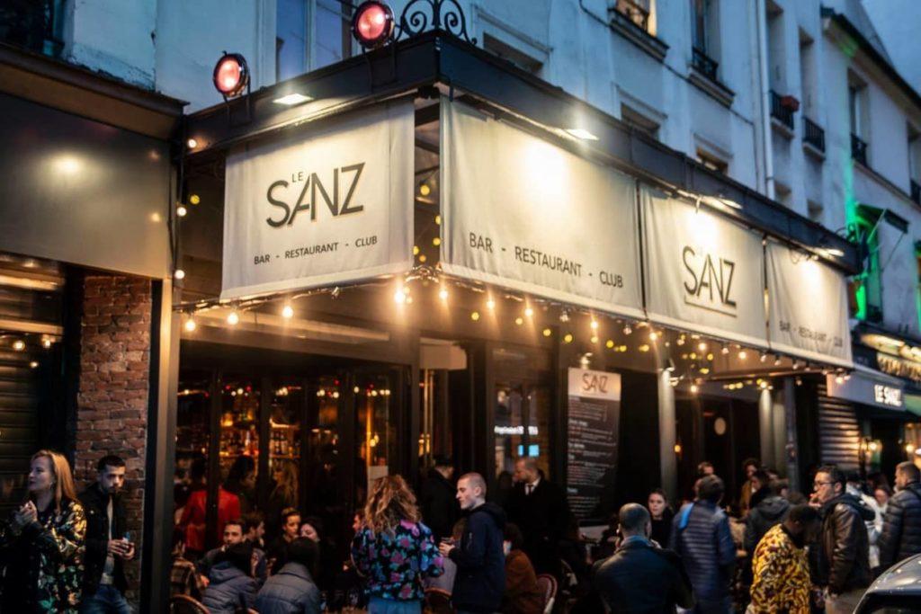 Le Sanz Nightclub Parijs