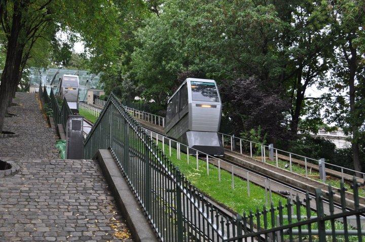 Montmartre kabelbaan Parijs