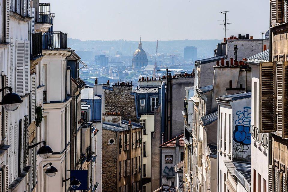 Montmartre Neighborhood Paris - 18th arrondissement