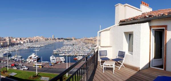 New Hotel Le Quai - Old Port Marseille