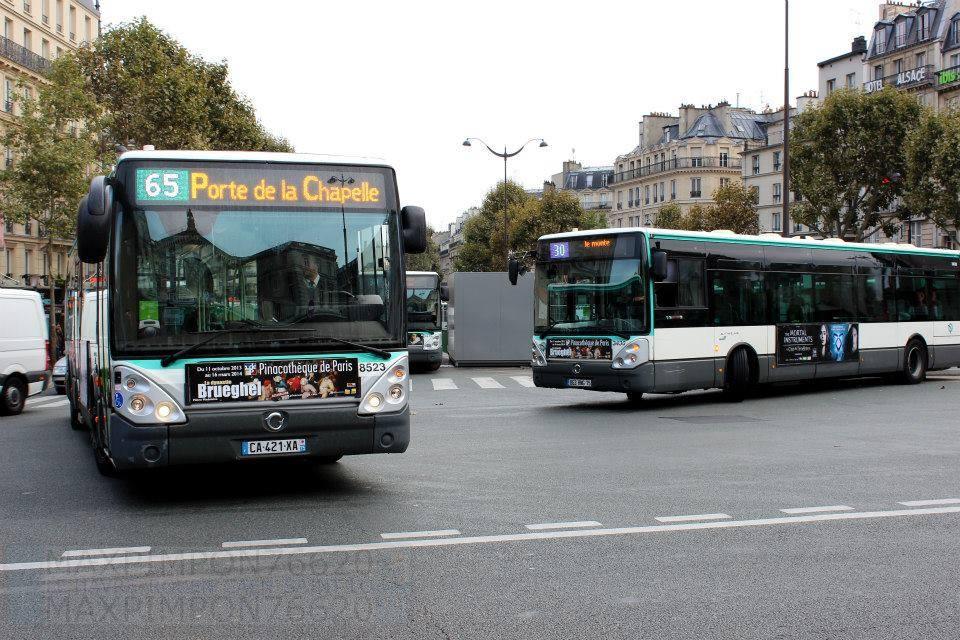 Parijs openbaar bussysteem