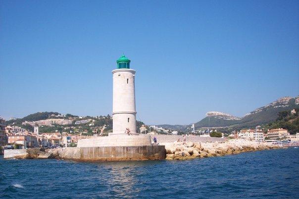 Sailing around Nice, France
