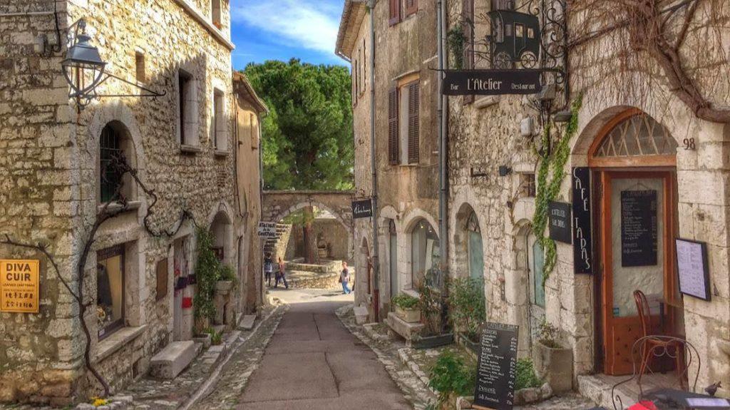 Saint Paul de Vence From Nice France