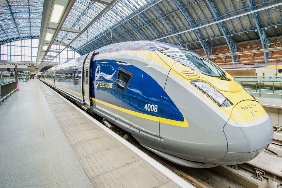 Taking the Eurostar Through the Channel Tunnel