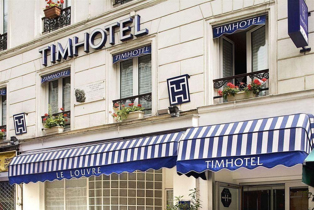 Timhotel le Louvre Budget Hotel Dicht bij de