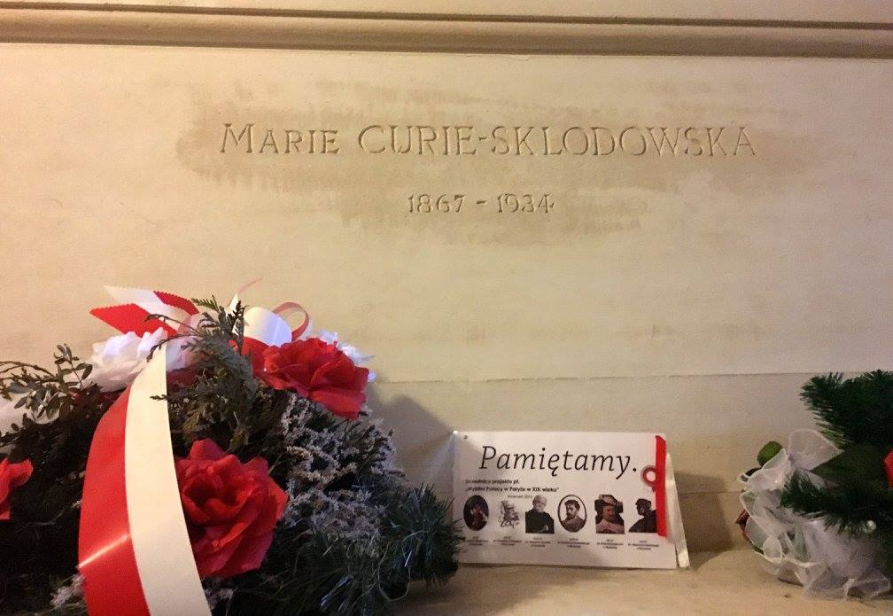 Tomb Marie Curie