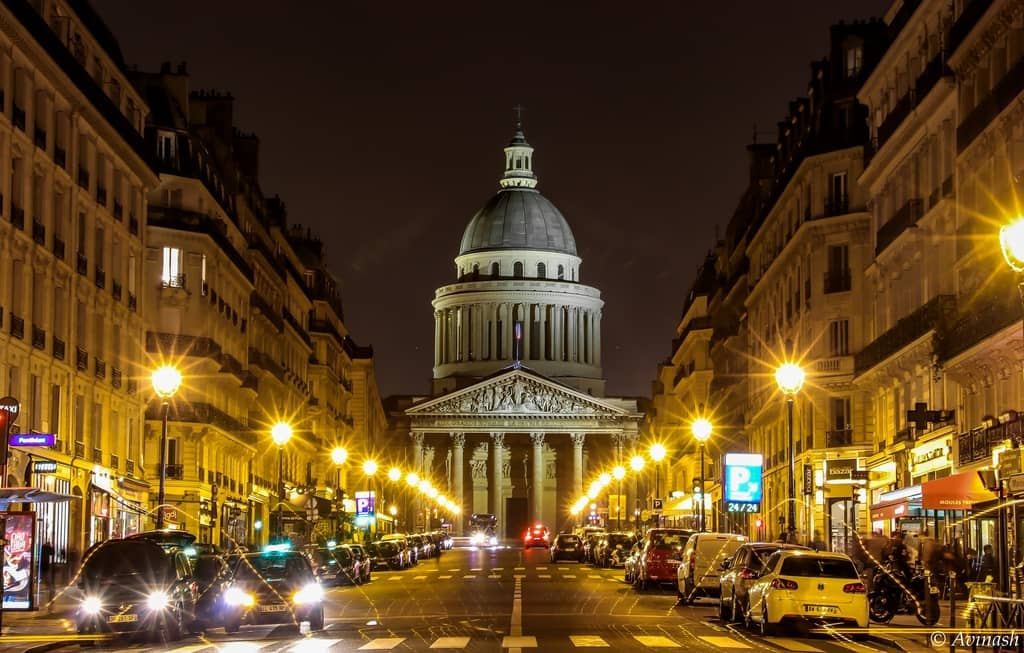The Pantheon In The Latin Quarter