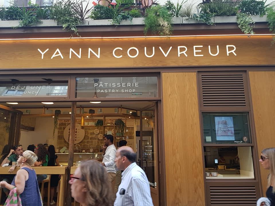 Yann Couvreur Pâtisserie in Marais Paris