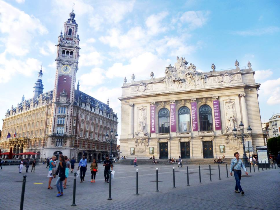 Belfry of the Chamber of Commerce Travel Blog For Lille