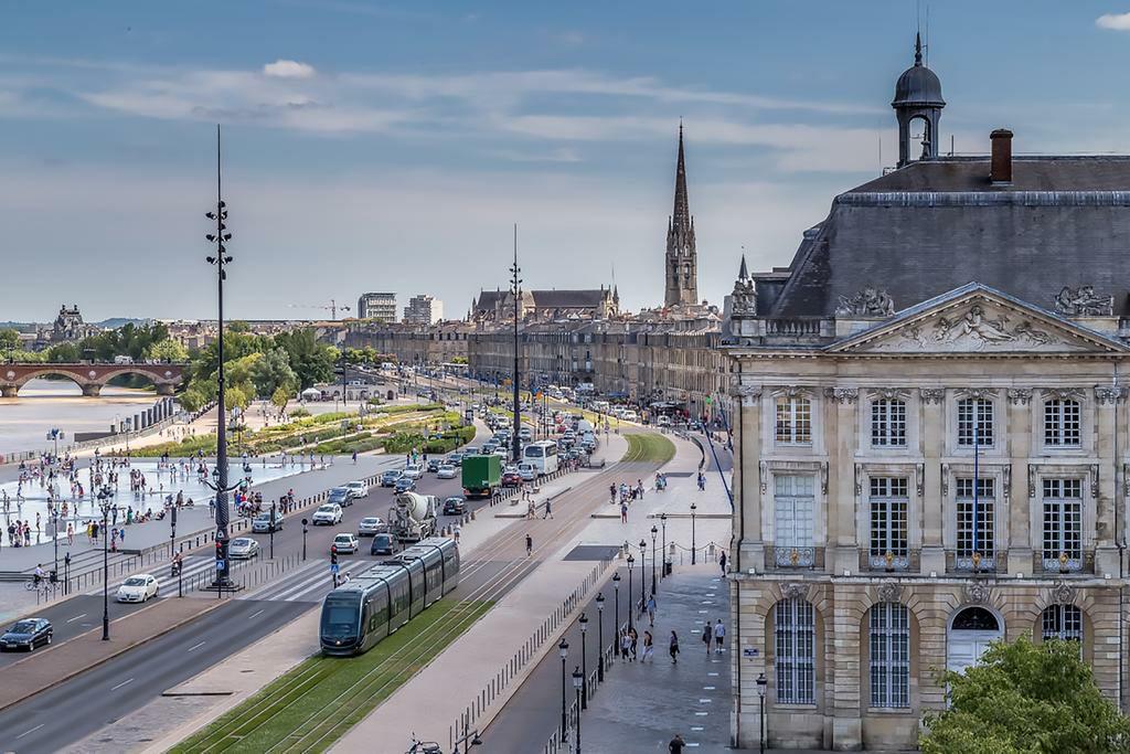 Bordeaux, France Architecture