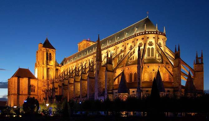 Bourges Cathedral in France