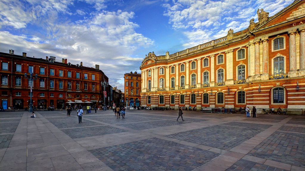 Capitole Famous Monuments in Toulouse