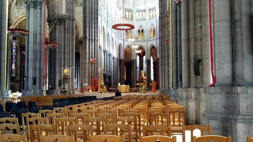 Cathedral Notre Dame in Lille, France