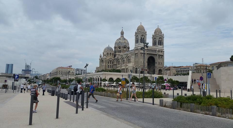 Cathedrale La Major Beautiful Church in Marseille