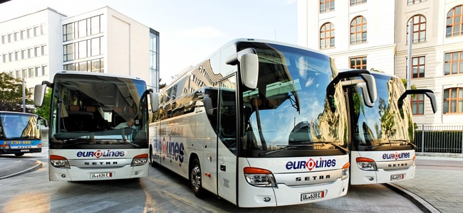 Eurolines Bus Guide To France