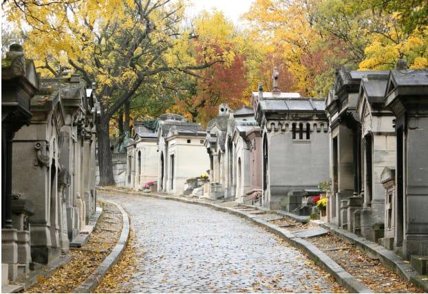 Gratis bezoek aan de begraafplaatsen in Parijs