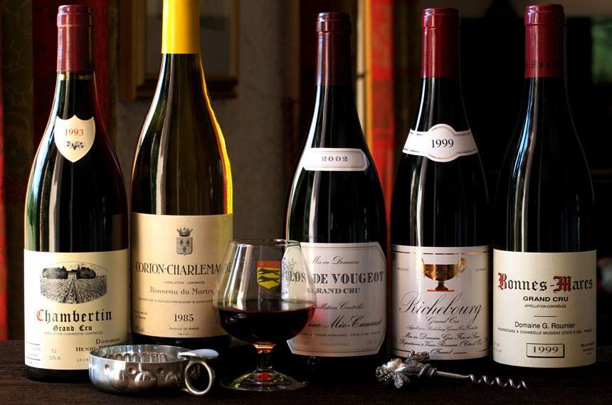 French Vs American Wine