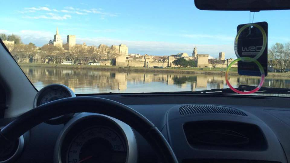 From Paris to Avignon With A Car