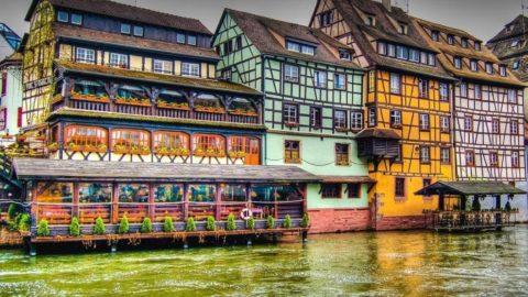 Is Strasbourg in France?