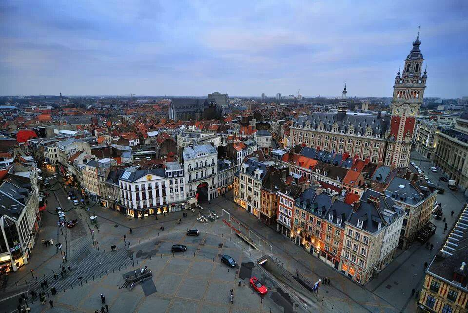Lille France City Hall