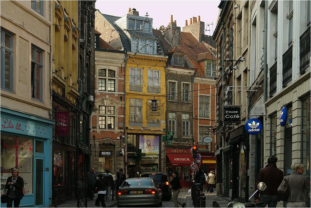 Lille Travel Blog Place des Patiniers