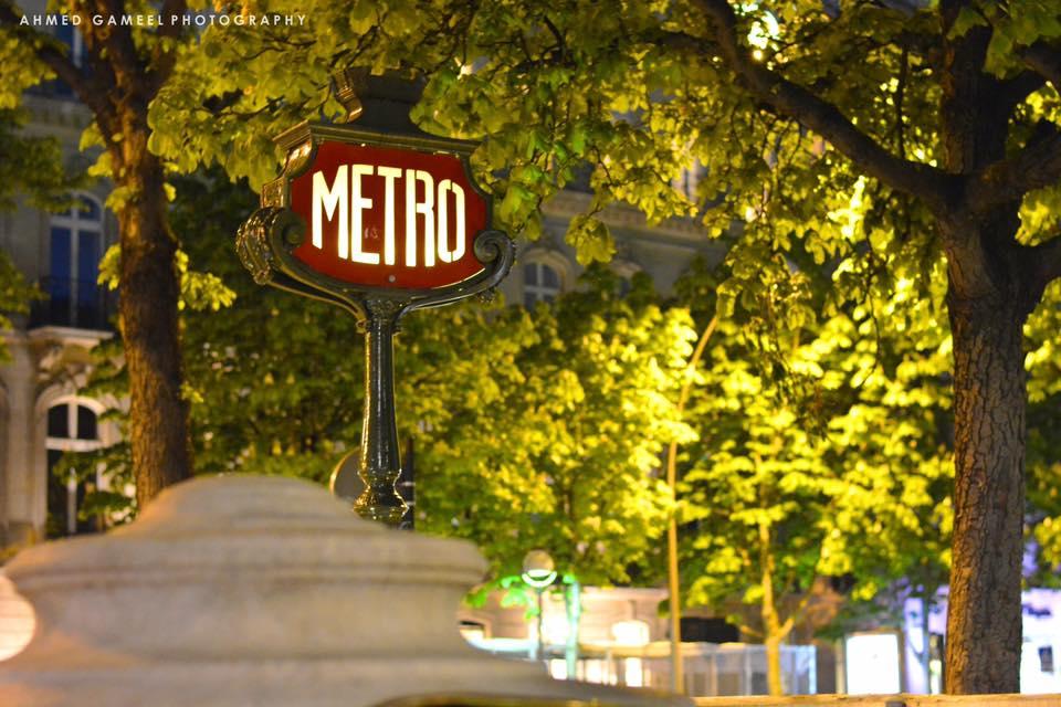Metro Paris First Time