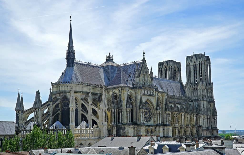 Notre Dame de Reims (Reims Cathedral) in France