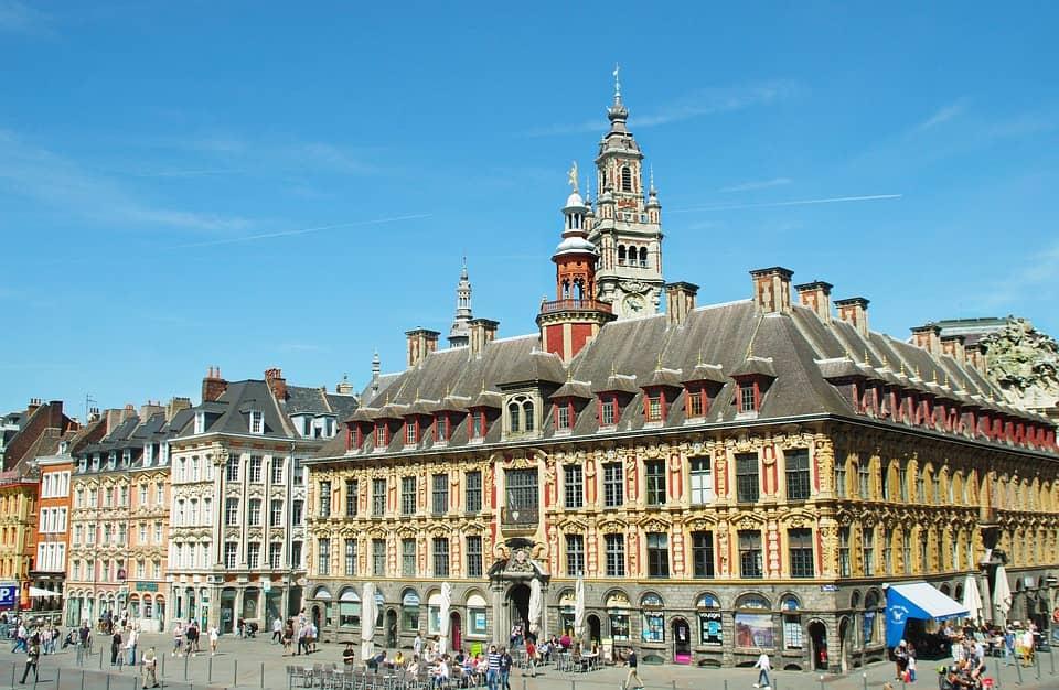 Place Charles de Gaulle Lille France