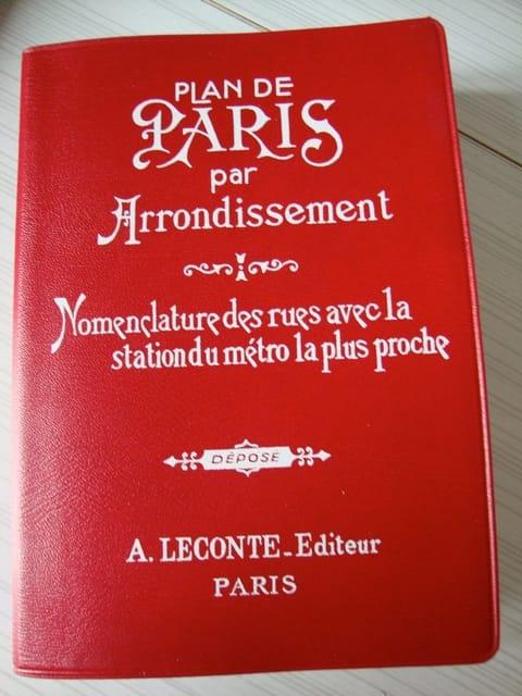 Plan De Paris - Kaart bij een bezoek aan Parijs voor beginners