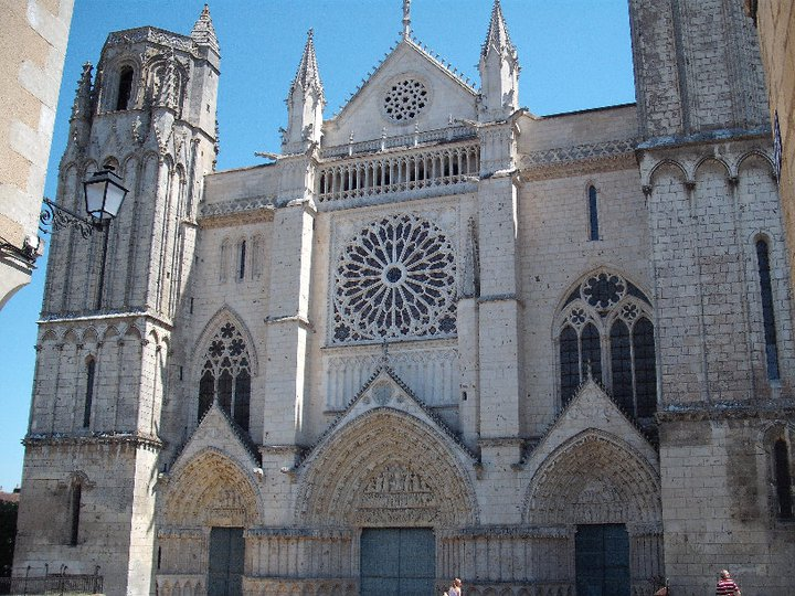 Poitiers cathedral In France