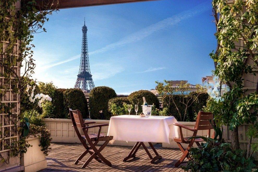 Romantisch hotel in Parijs Raphael