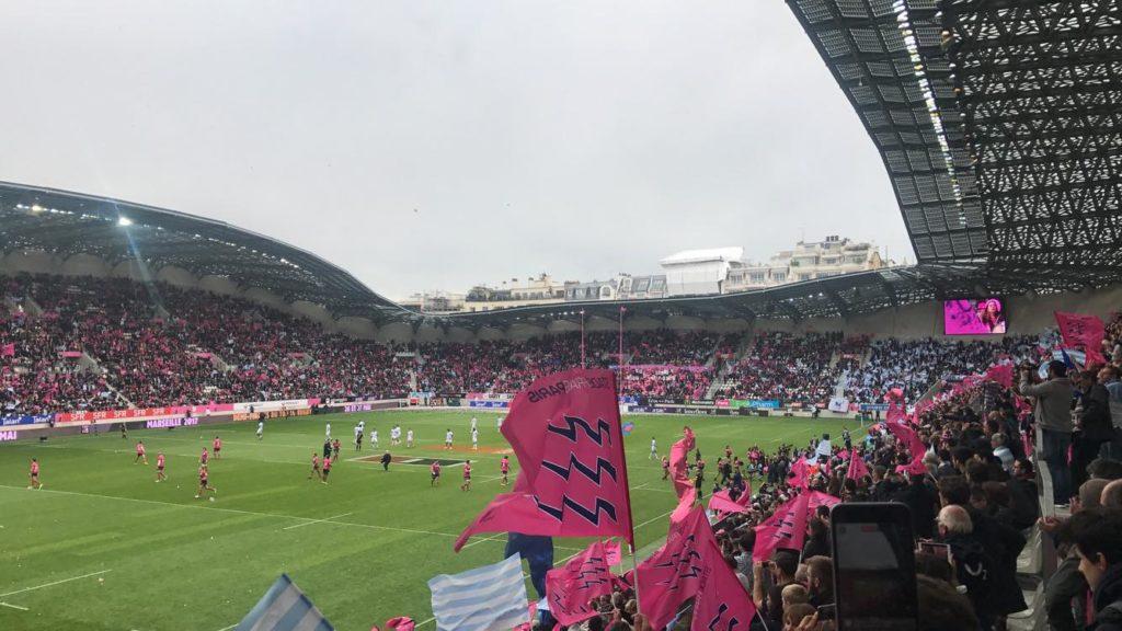 Stade Jean-Bouin In Parijs Frankrijk