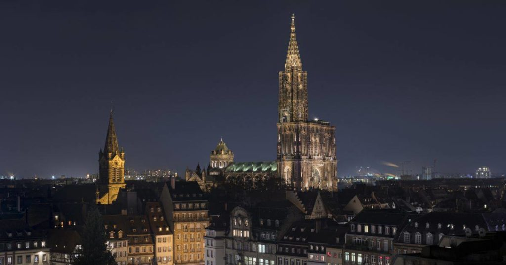 Strasbourg France Magnificent Cathedral