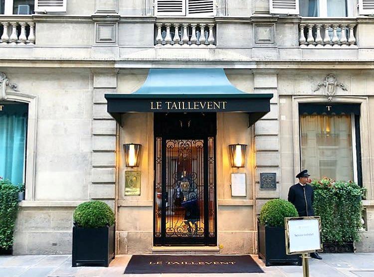 Taillevent Restaurant In Parijs