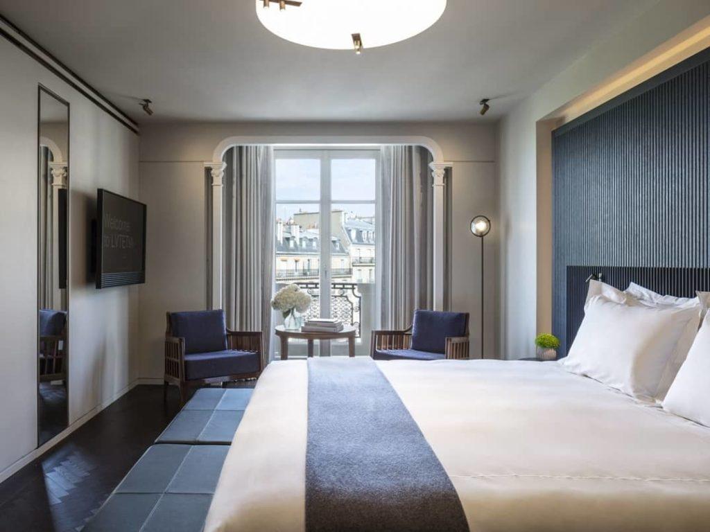 De beste romantische hotels in Parijs